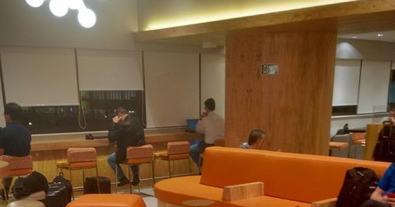 Sala VIP da Gol no aeroporto de Guarulhos – SP