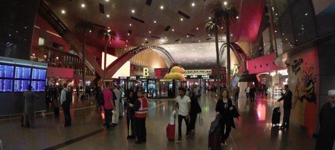 O que fazer em conexão no aeroporto em Doha, no Qatar.