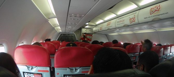 Como é voar de AirAsia